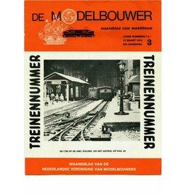 """NVM 95.73.003 Jaargang """"De Modelbouwer"""" Editie : 73.003 (PDF)"""