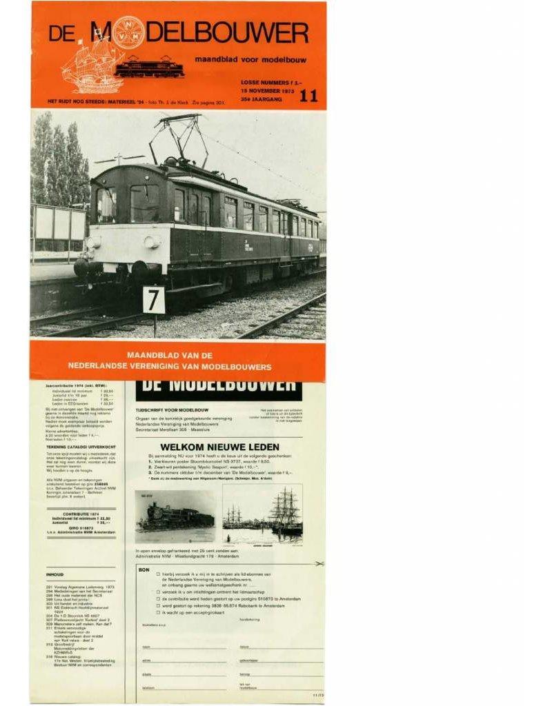 """NVM 95.73.011 Jaargang """"De Modelbouwer"""" Editie : 73.011 (PDF)"""