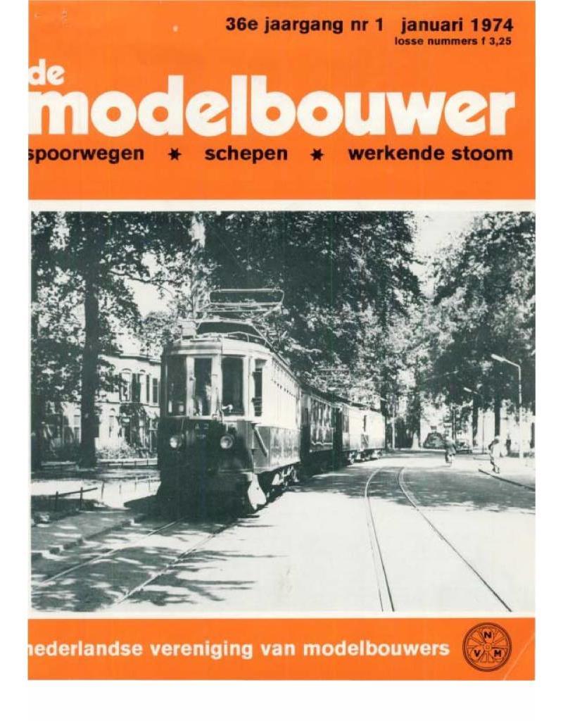 """NVM 95.74.001 Jaargang """"De Modelbouwer"""" Editie : 74.001 (PDF)"""