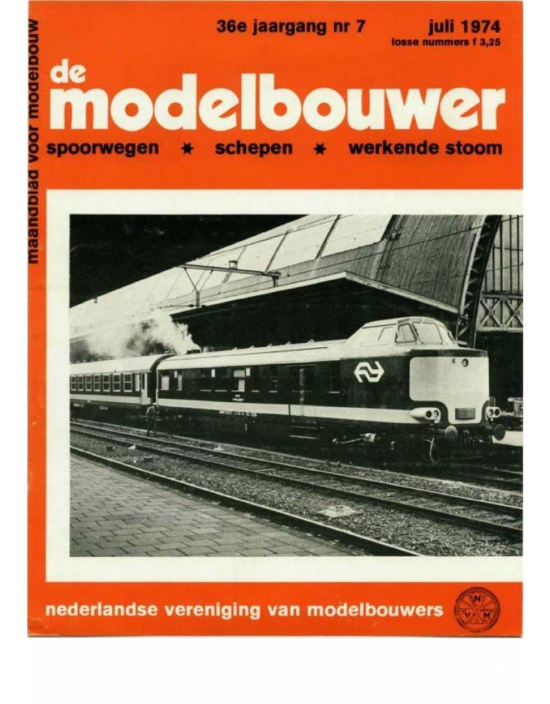 """NVM 95.74.007 Jaargang """"De Modelbouwer"""" Editie : 74.007 (PDF)"""