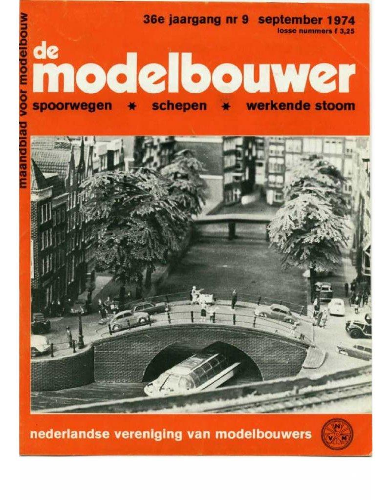 """NVM 95.74.009 Jaargang """"De Modelbouwer"""" Editie : 74.009 (PDF)"""