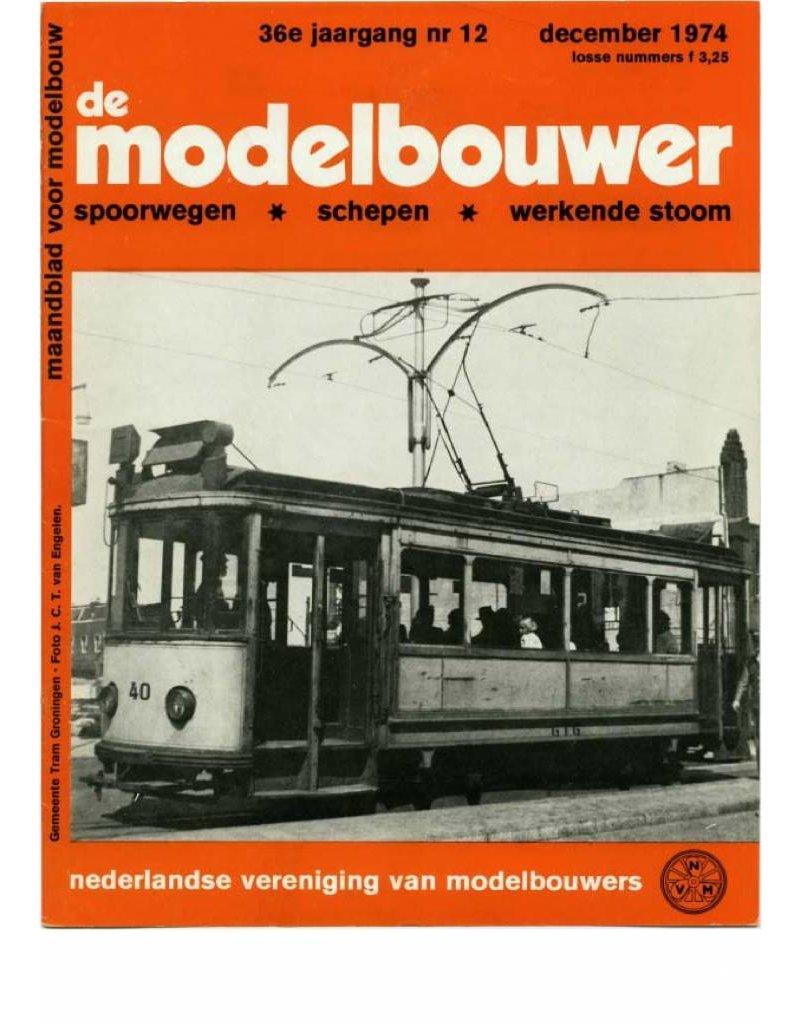 """NVM 95.74.011 Jaargang """"De Modelbouwer"""" Editie : 74.011 (PDF)"""