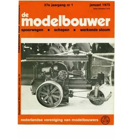 """NVM 95.75.001 Jaargang """"De Modelbouwer"""" Editie : 75.001 (PDF)"""