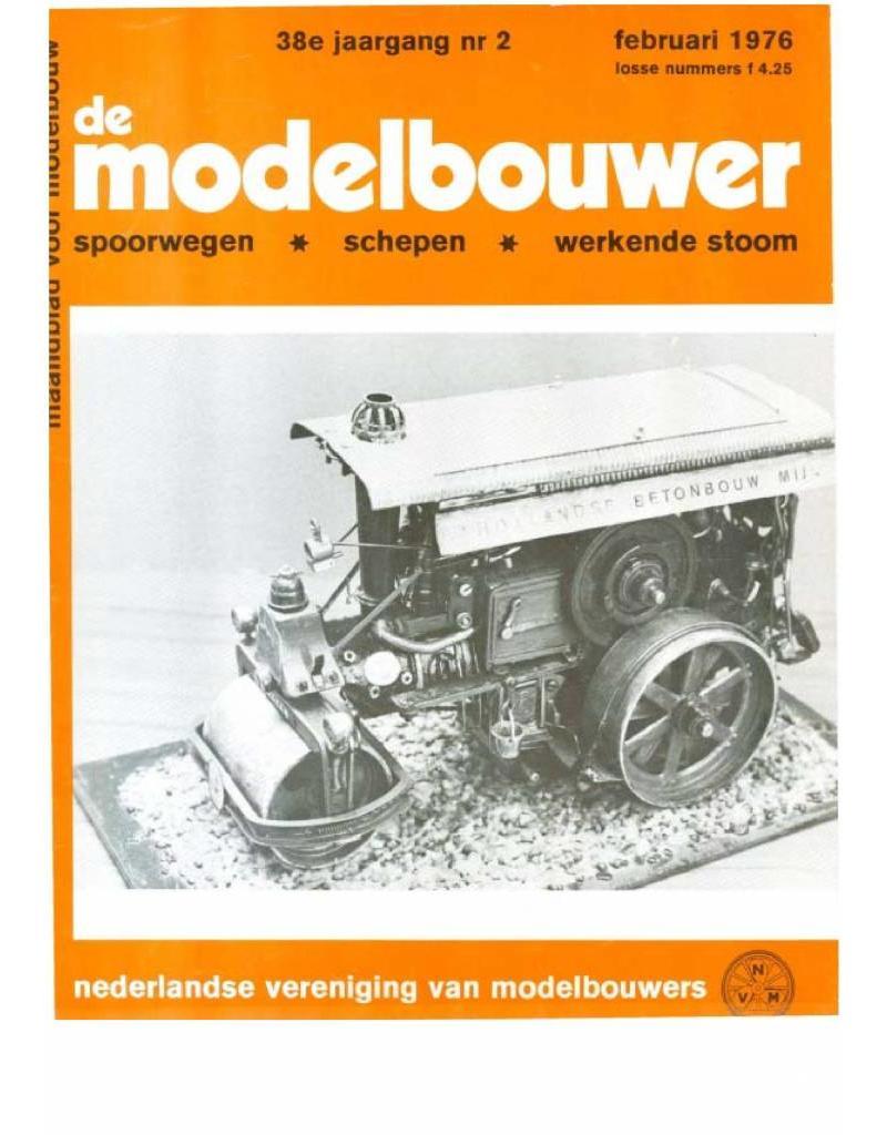 """NVM 95.76.002 Jaargang """"De Modelbouwer"""" Editie : 76.002 (PDF)"""
