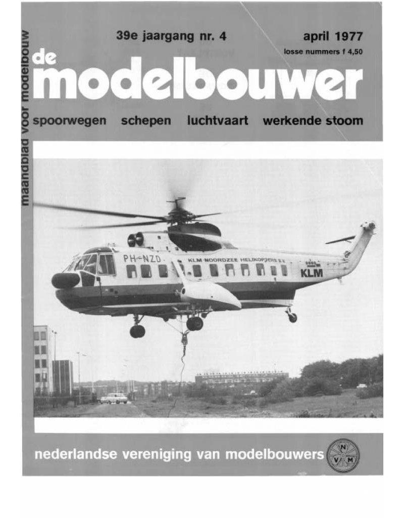"""NVM 95.77.004 Jaargang """"De Modelbouwer"""" Editie : 77.004 (PDF)"""