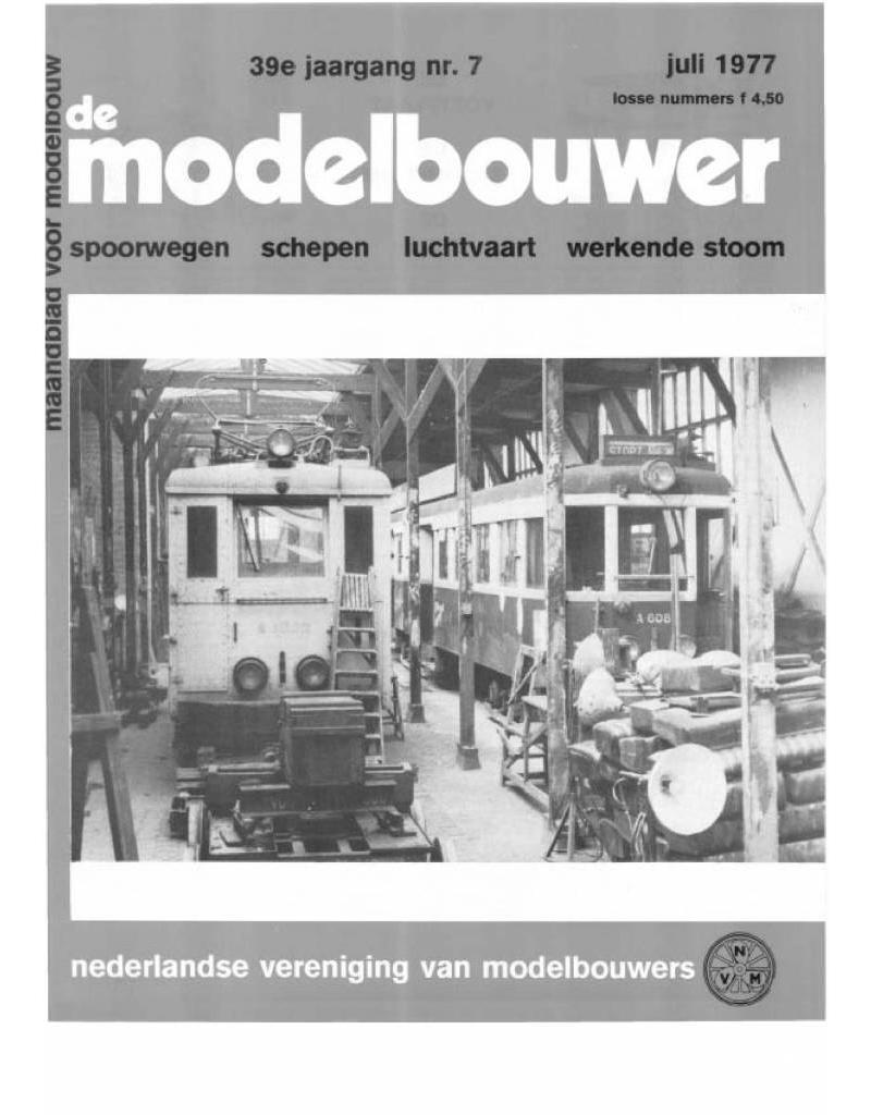 """NVM 95.77.007 Jaargang """"De Modelbouwer"""" Editie : 77.007 (PDF)"""