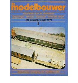 """NVM 95.78.001 Jaargang """"De Modelbouwer"""" Editie : 78.001 (PDF)"""