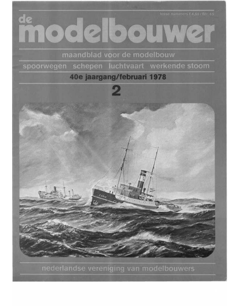 """NVM 95.78.002 Jaargang """"De Modelbouwer"""" Editie : 78.002 (PDF)"""