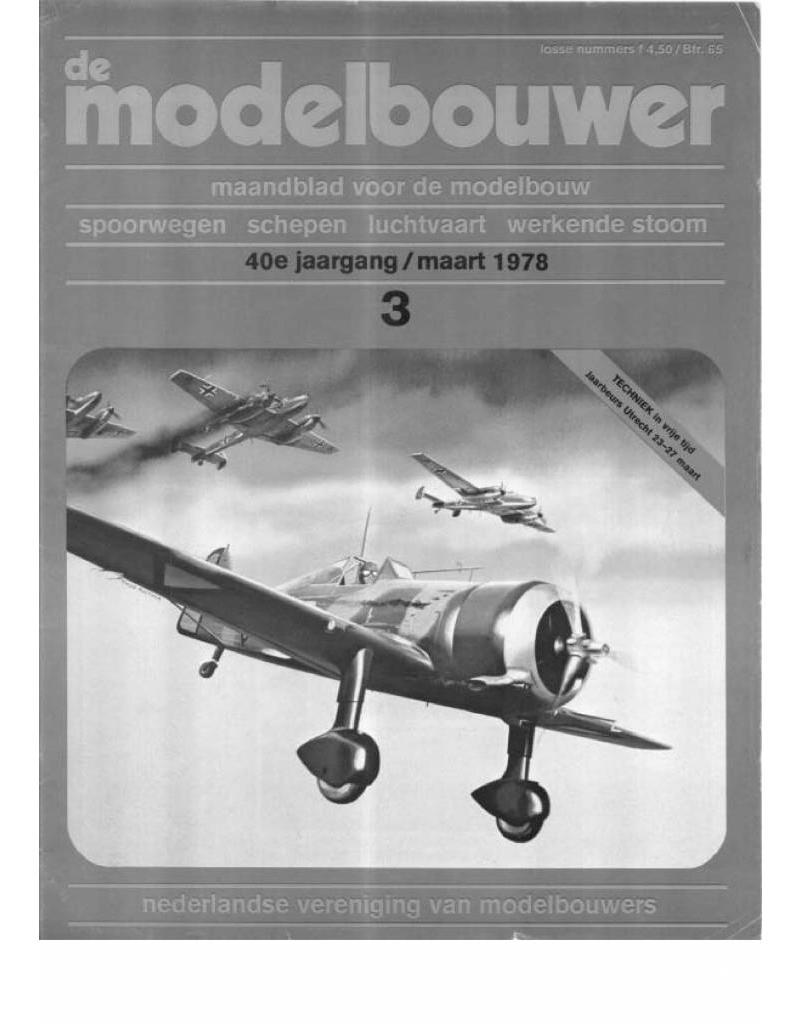"""NVM 95.78.003 Jaargang """"De Modelbouwer"""" Editie : 78.003 (PDF)"""