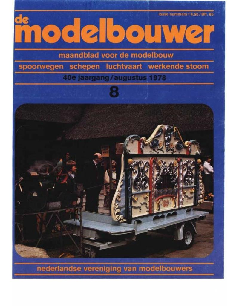 """NVM 95.78.008 Jaargang """"De Modelbouwer"""" Editie : 78.008 (PDF)"""