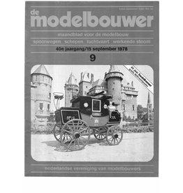 """NVM 95.78.009 Jaargang """"De Modelbouwer"""" Editie : 78.009 (PDF)"""