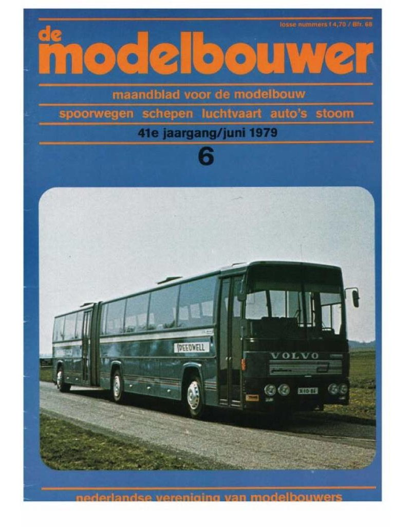 """NVM 95.79.006 Jaargang """"De Modelbouwer"""" Editie : 79.006 (PDF)"""