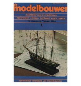 """NVM 95.80.001 Jaargang """"De Modelbouwer"""" Editie : 80.001 (PDF)"""
