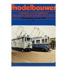 """NVM 95.81.001 Jaargang """"De Modelbouwer"""" Editie : 81.001 (PDF)"""