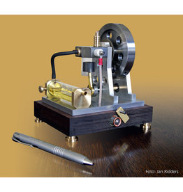 NVM 60.10.021 Viertakt motor met glazen cilinder