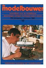 """NVM 95.81.010 Jaargang """"De Modelbouwer"""" Editie : 81.010 (PDF)"""