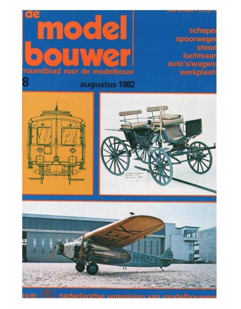 """NVM 95.82.008 Jaargang """"De Modelbouwer"""" Editie : 82.008 (PDF)"""