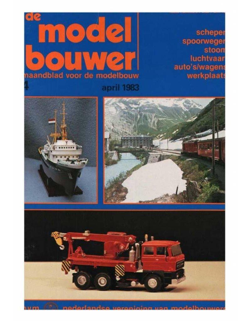 """NVM 95.83.004 Jaargang """"De Modelbouwer"""" Editie : 83.004 (PDF)"""