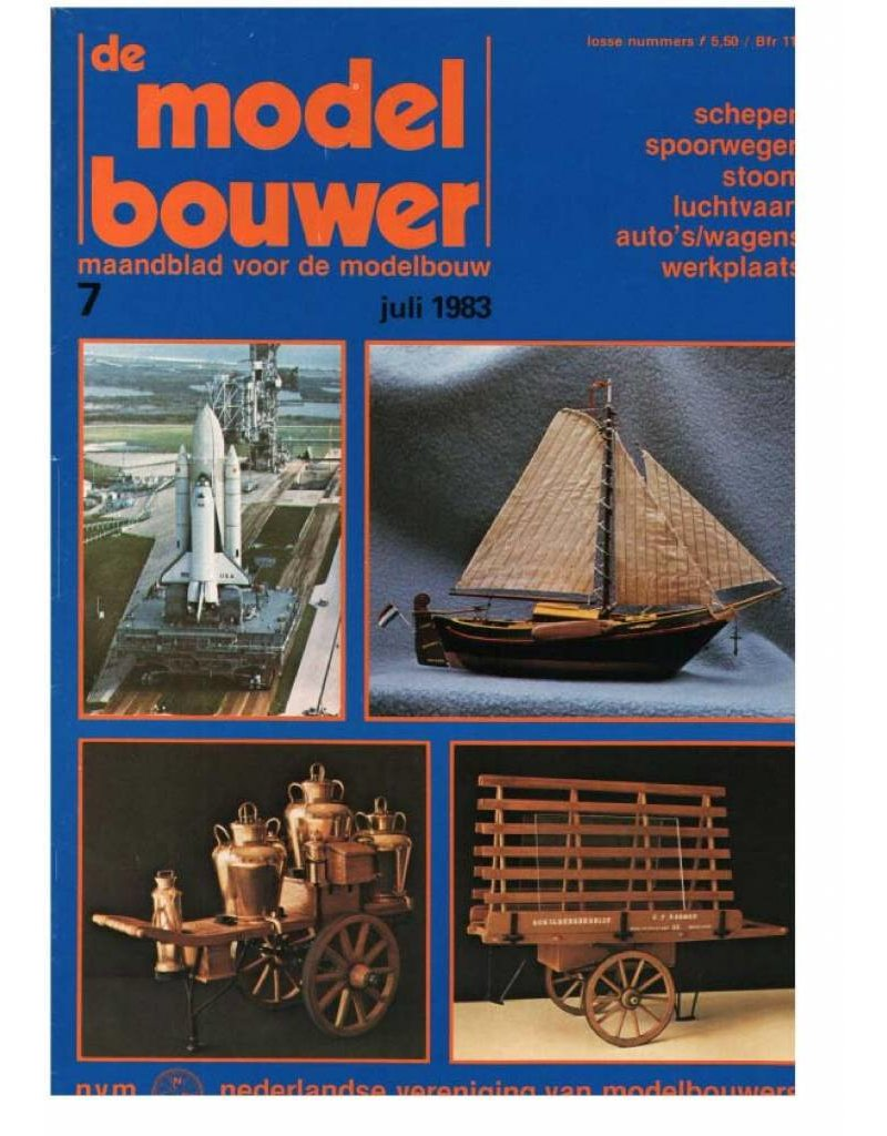"""NVM 95.83.007 Jaargang """"De Modelbouwer"""" Editie : 83.007 (PDF)"""