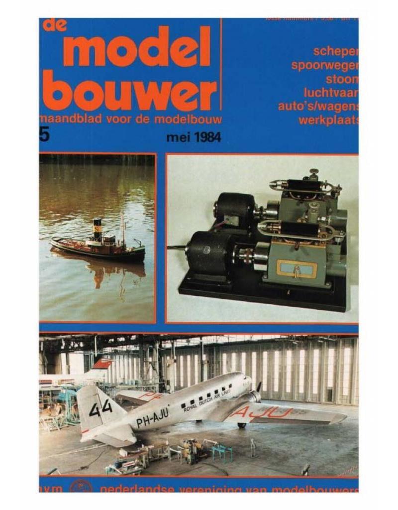 """NVM 95.84.005 Jaargang """"De Modelbouwer"""" Editie : 84.005 (PDF)"""