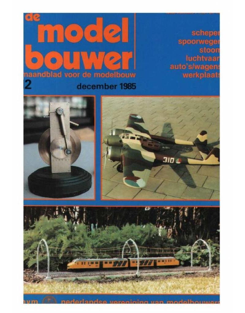 """NVM 95.85.012 Jaargang """"De Modelbouwer"""" Editie : 85.012 (PDF)"""