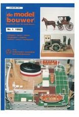 """NVM 95.92.001 Jaargang """"De Modelbouwer"""" Editie : 92.001 (PDF)"""