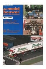 """NVM 95.92.002 Jaargang """"De Modelbouwer"""" Editie : 92.002 (PDF)"""