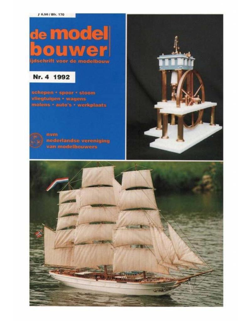 """NVM 95.92.004 Jaargang """"De Modelbouwer"""" Editie : 92.004 (PDF)"""
