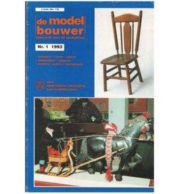 """NVM 95.93.001 Jaargang """"De Modelbouwer"""" Editie : 93.001 (PDF)"""