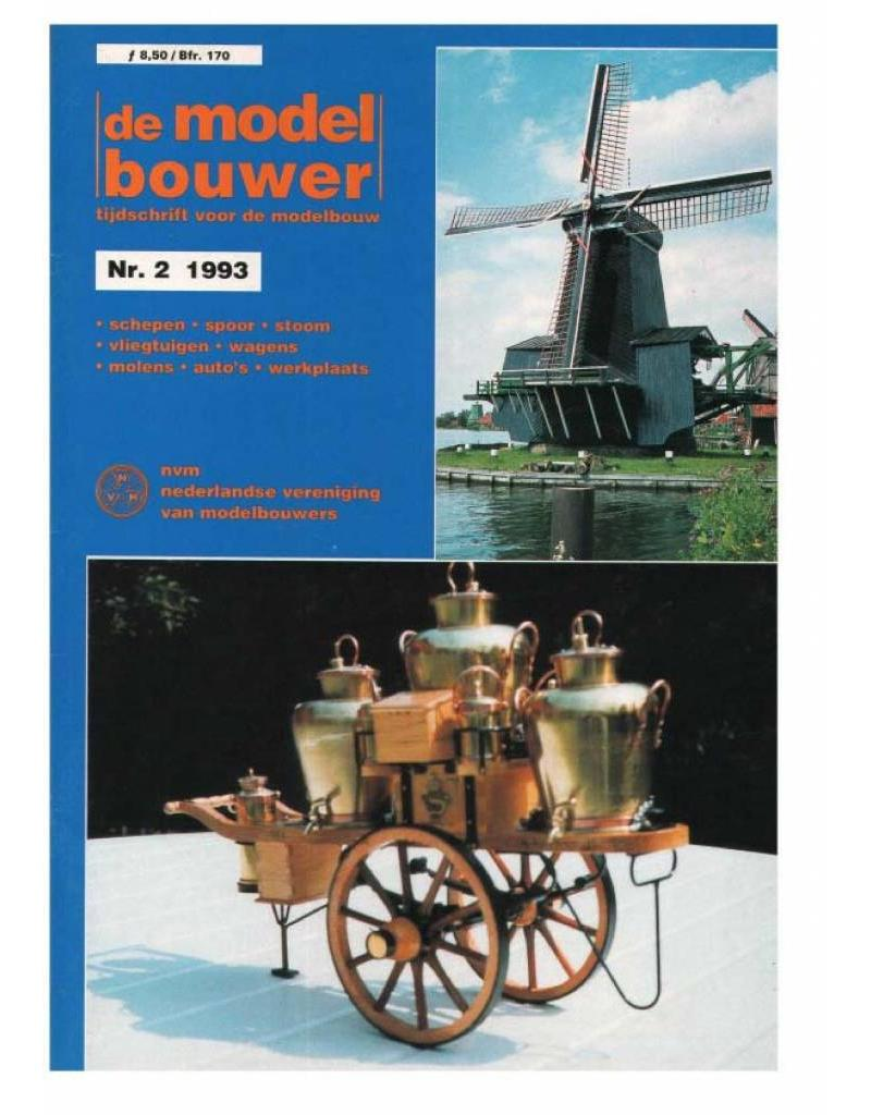 """NVM 95.93.002 Jaargang """"De Modelbouwer"""" Editie : 93.002 (PDF)"""