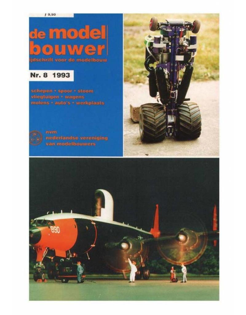 """NVM 95.93.008 Jaargang """"De Modelbouwer"""" Editie : 93.008 (PDF)"""