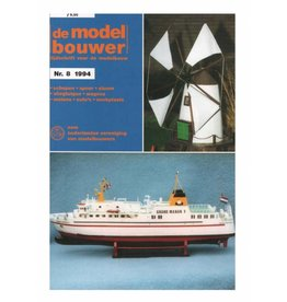 """NVM 95.94.008 Jaargang """"De Modelbouwer"""" Editie : 94.008 (PDF)"""