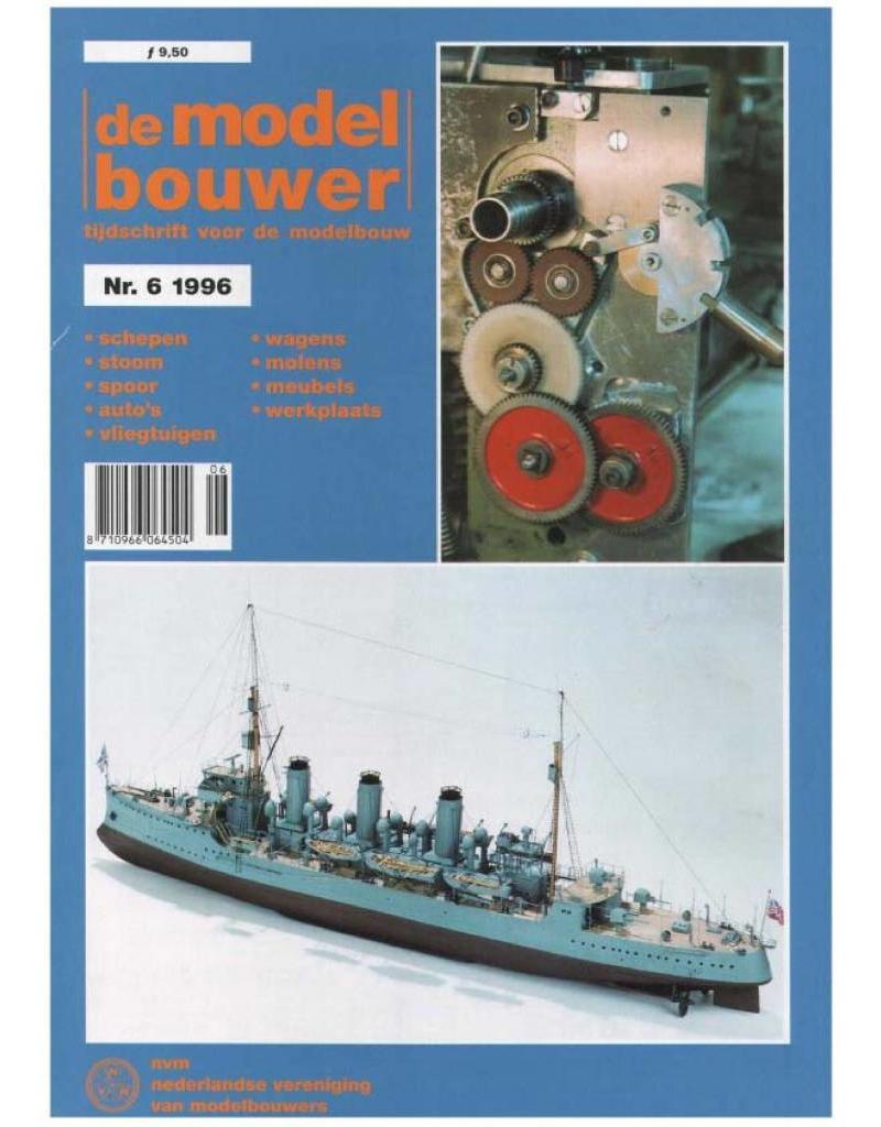 """NVM 95.96.006 Jaargang """"De Modelbouwer"""" Editie : 96.006 (PDF)"""