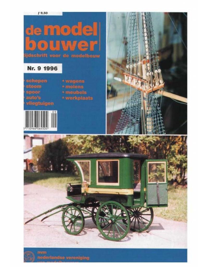 """NVM 95.96.009 Jaargang """"De Modelbouwer"""" Editie : 96.009 (PDF)"""