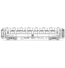 NVM 29.05.053 Pullmanrijtuig 2e kl Cie Intern des Wagon Lits VP 4111 - 4130