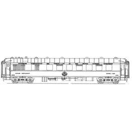 NVM 29.05.054 Restauratierijtuig Cie Intern des Wagon Lits VR 4201 - 4218