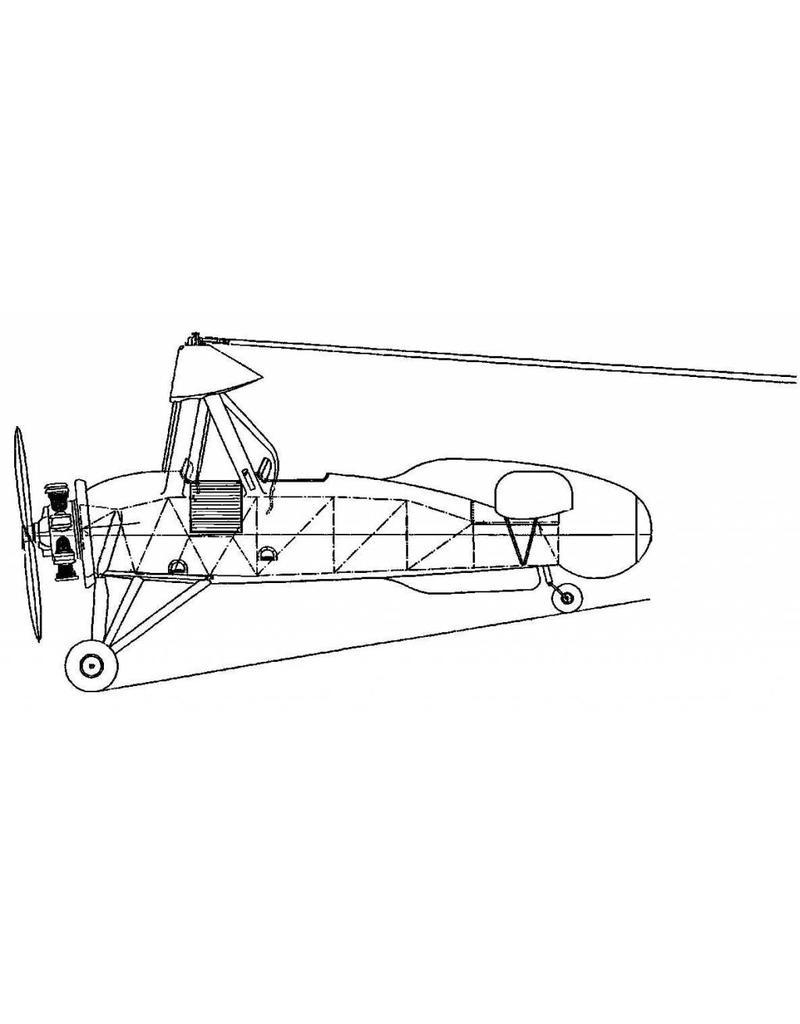 NVM 50.02.013 autogiro De La Cierva C30