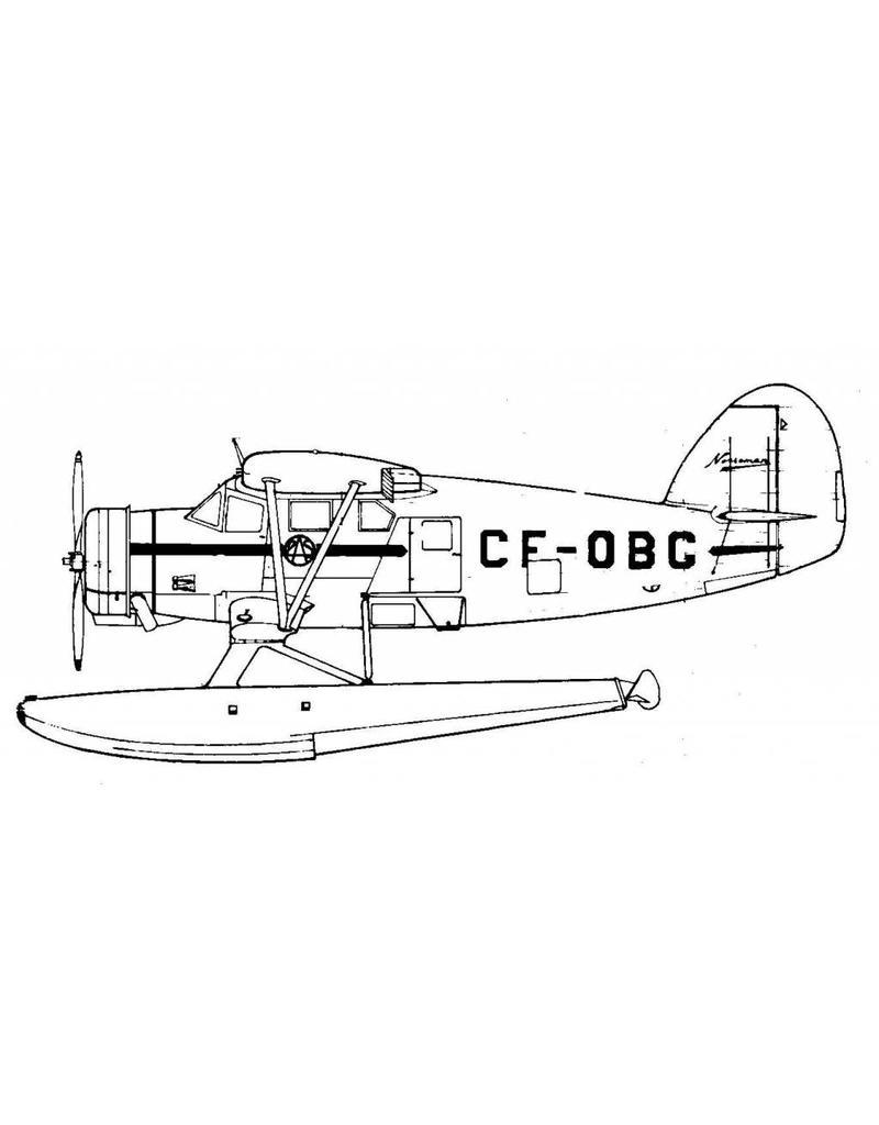 NVM 50.02.015 Noorduyn Norseman mk V transportvliegtuig
