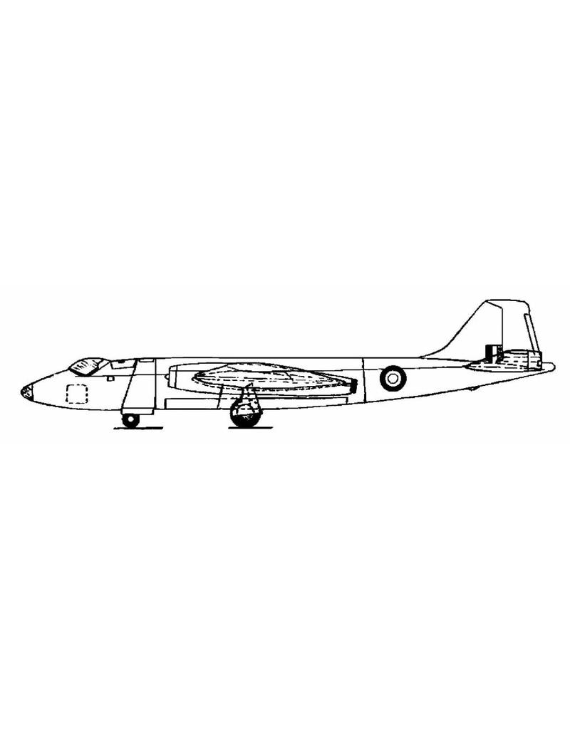 NVM 50.11.004 English Electric Canberra