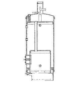 NVM 60.00.008 Vulcanus II, ketel voor heimachine