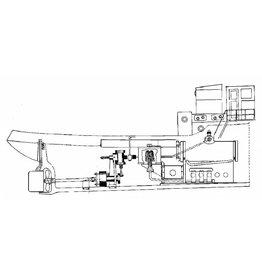 NVM 60.01.004 dubbelwerkende oscillerende stoommachine incl horiz. ketel