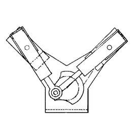 NVM 60.01.007 2 cil. oscillerende stoommachine in V-vorm