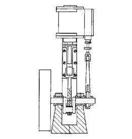 """NVM 60.01.011 verticale stoommachine """"Krekel"""""""