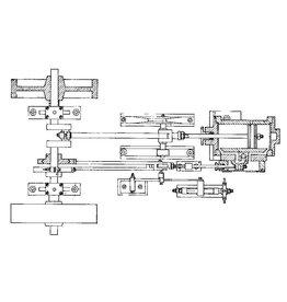 NVM 60.01.014 horizontale stoommachine Vesta