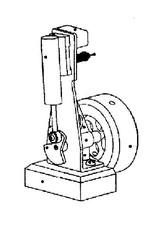 NVM 60.01.016/A CD-Variaties op oscillerende stoommachine