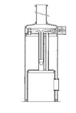NVM 60.01.017 dubbelwerkende 2 cyl. oscillerende stoommachine met ketel