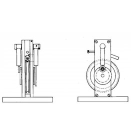 NVM 60.01.025 Mirror, verticale 2 cil. oscillerende stoommachine