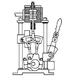 NVM 60.01.033 omkeerbeweging voor stoommachine 60.01.027