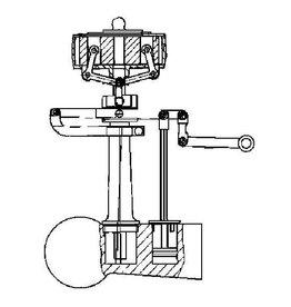 NVM 60.01.035/A regulateur voor horizontale tandem compoundmachine