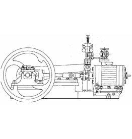 "NVM 60.01.041 horizontale stoommachine ""Ajax"""